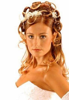 Coiffure de mariée cheveux long