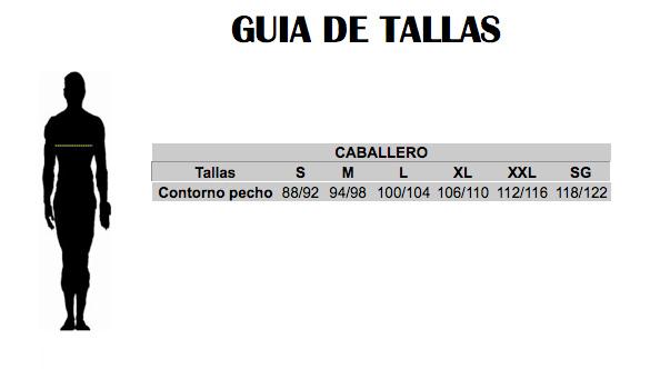 GUIA DE TALLAS