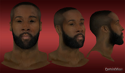 NBA 2K13 James Harden Cyberface Mod