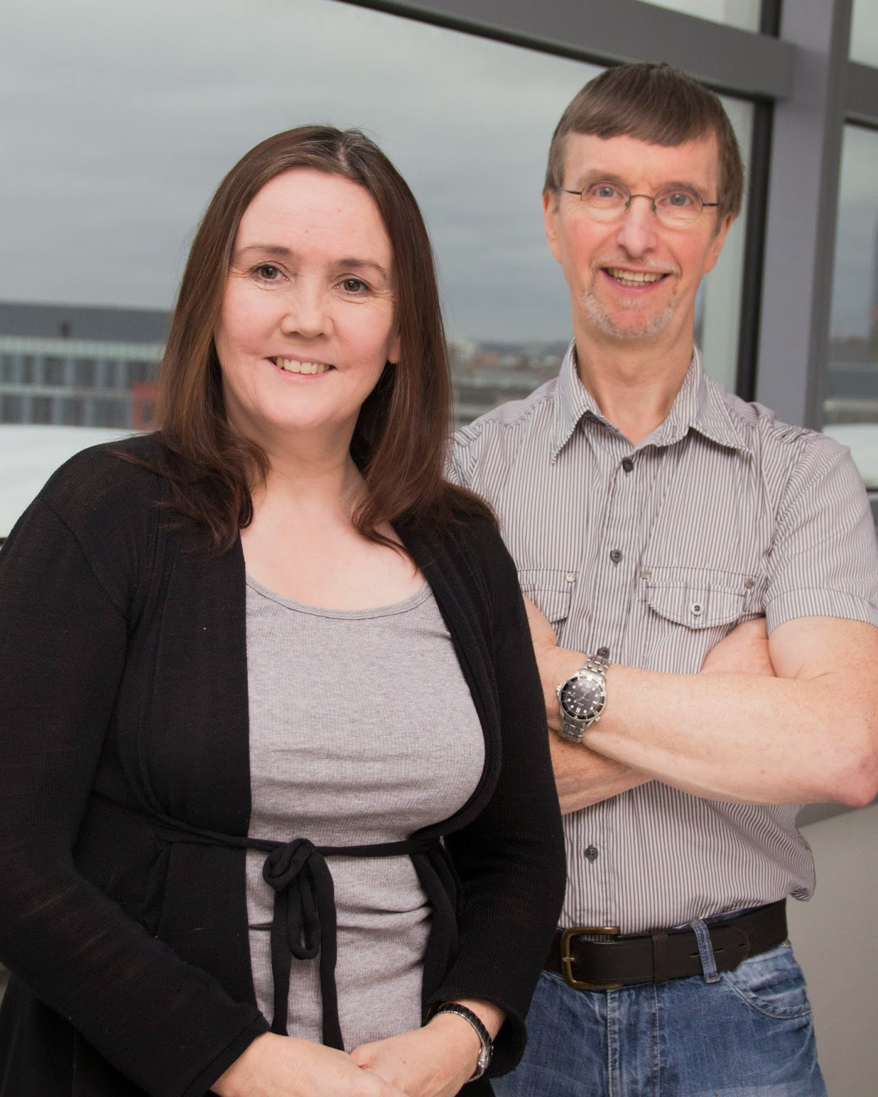 Dr Lynne Hampson and Dr Ian Hampson