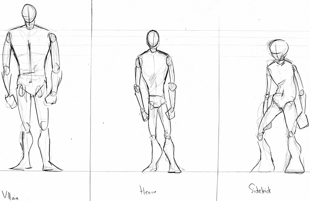 Character Design Basic Shapes : Samantha niemczyk character design body shapes