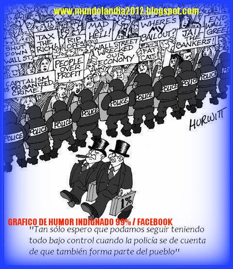 LA ASTUCIA DE LOS POLITICOS PARA USARLOS- DESCARTARLOS y DESPUES JUZGARLOS por REPRESORES