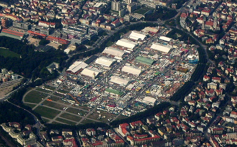 Munich: tent city on Theresienwiese to offer 6 million refugees asylum reality