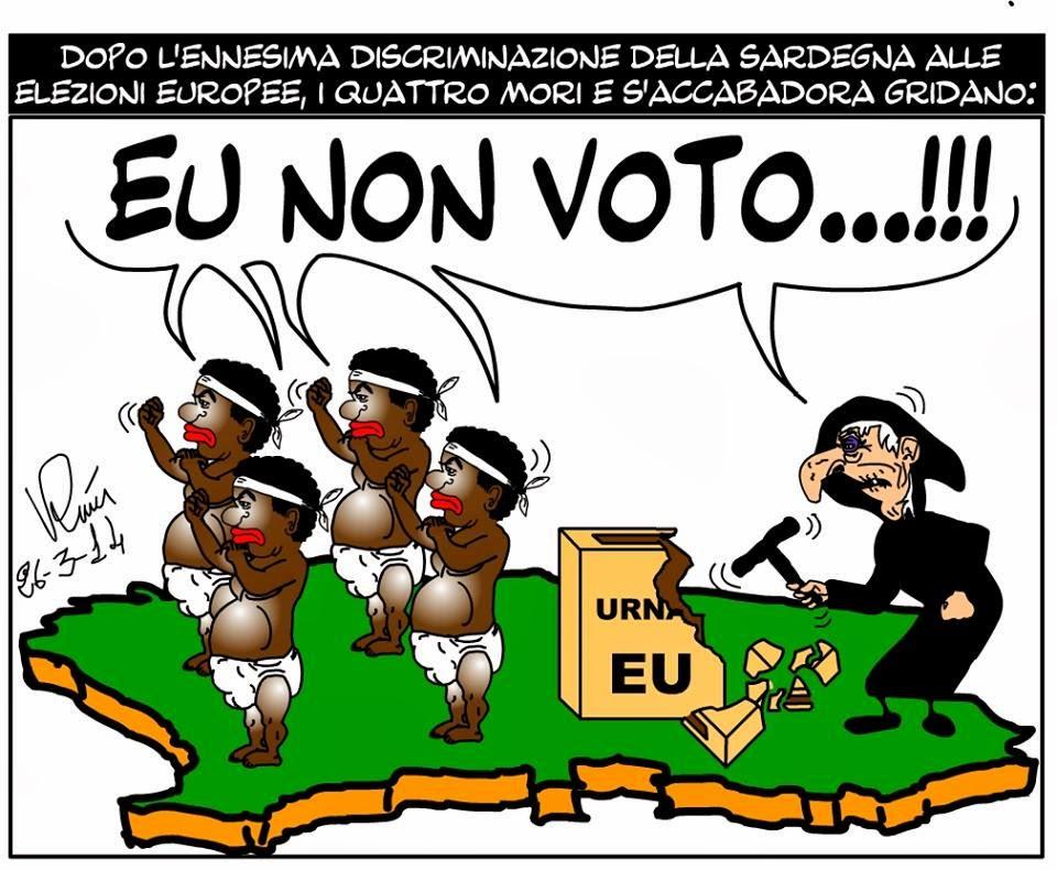 EU NON VOTO: CAMPAGNA DI PROTESTA IN SARDEGNA