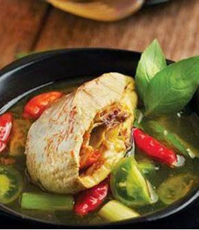 resep sup ikan kakap berempah