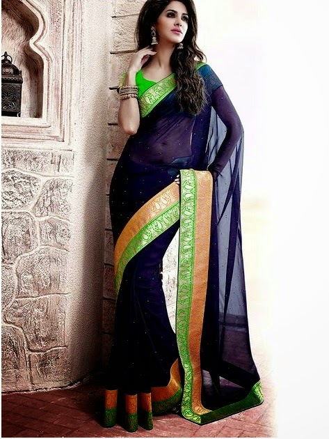 Wallpapers World: New Arrival Simple Designer Saree – Online ...