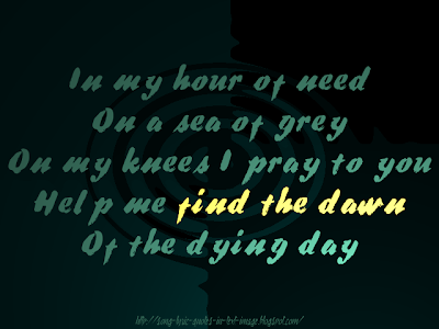 Light My Way - Audioslave Song Lyric Quote in Text Image