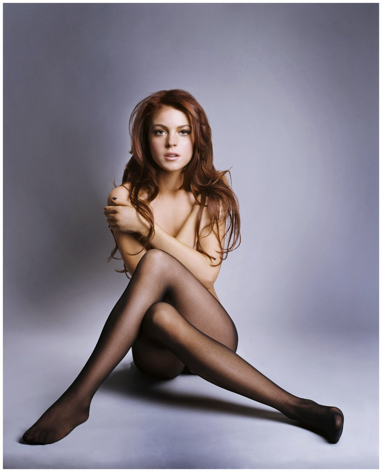 lindsay lohan and pantyhose