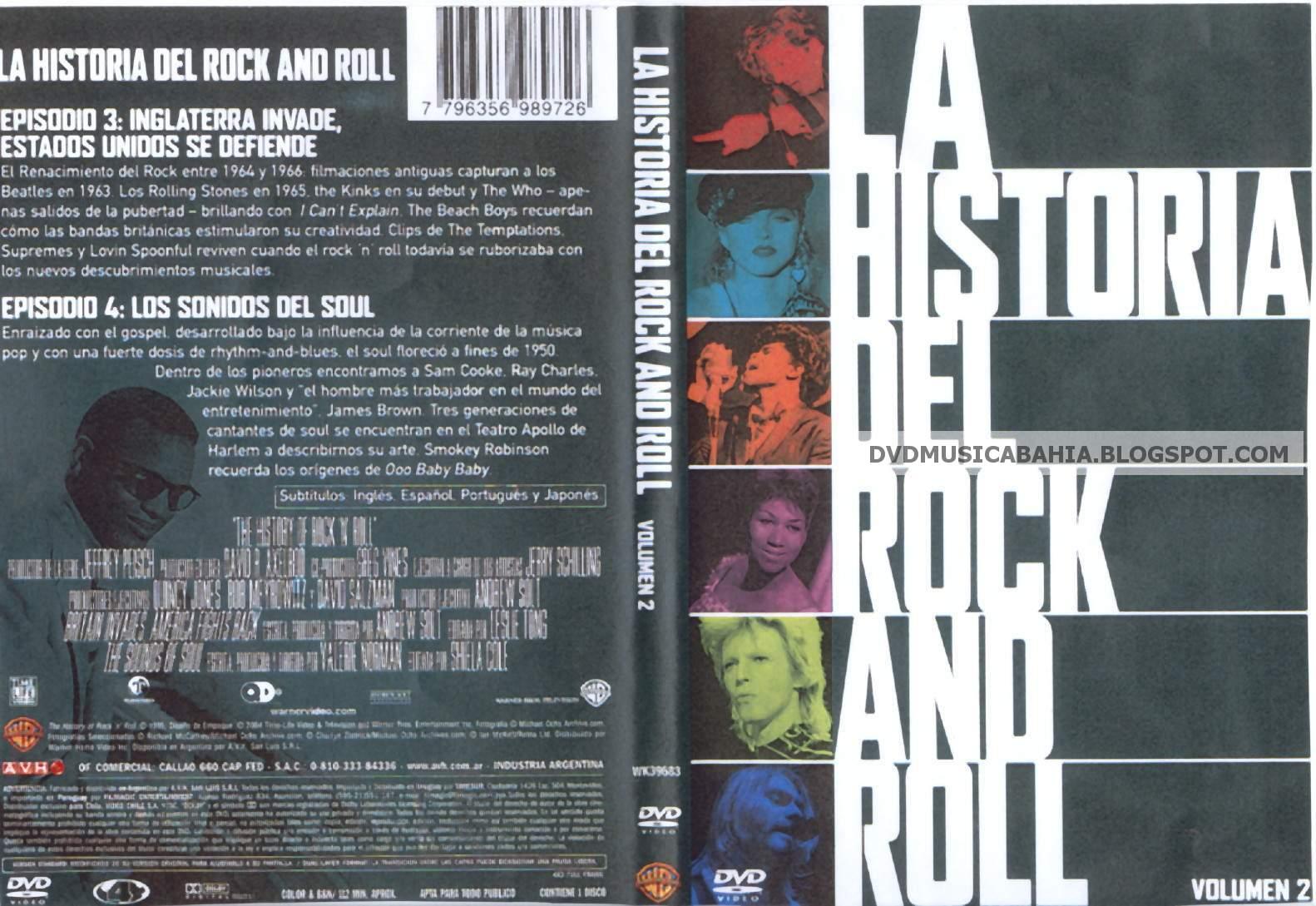Los mejores dvd de musica y mas la historia del for Espectaculo historia del rock