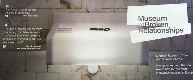 Музей разбитых отношений в Загребе