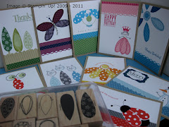 Stampin&#39; Up! Pick a Petal Stamp Class Instructions