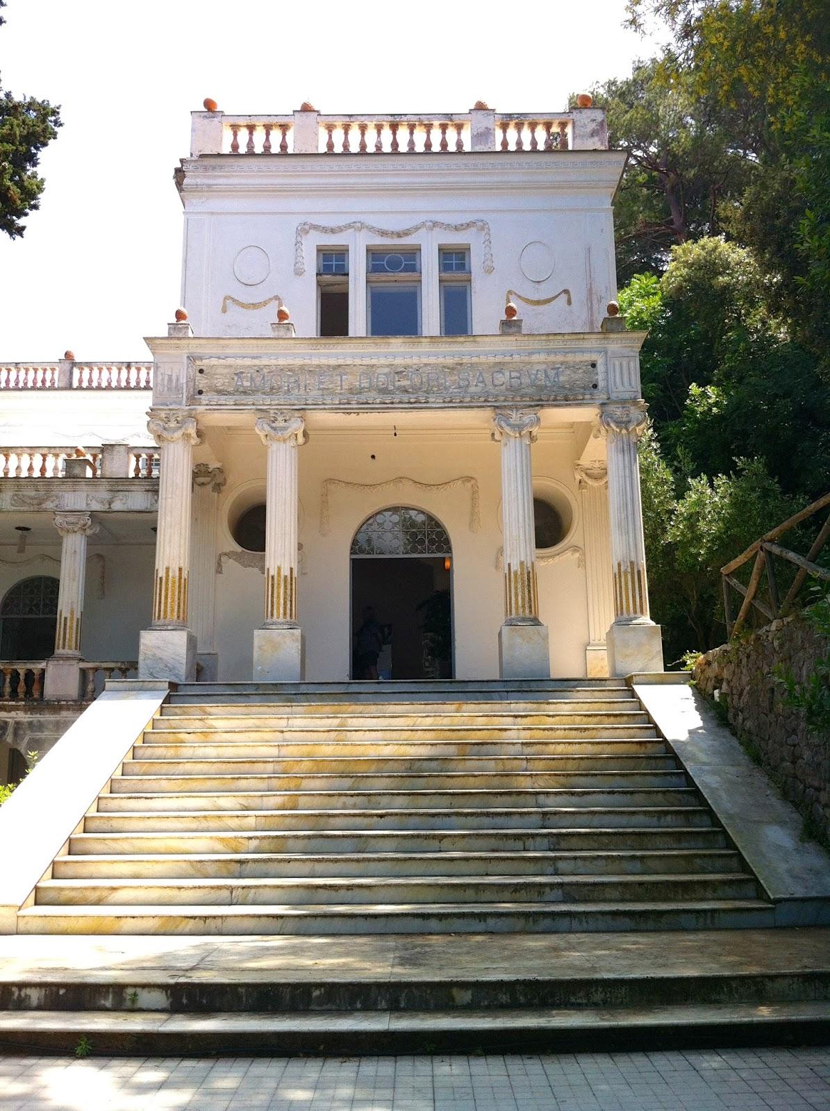 Party vista mare capri to be discovered villa lysis for Capri villa