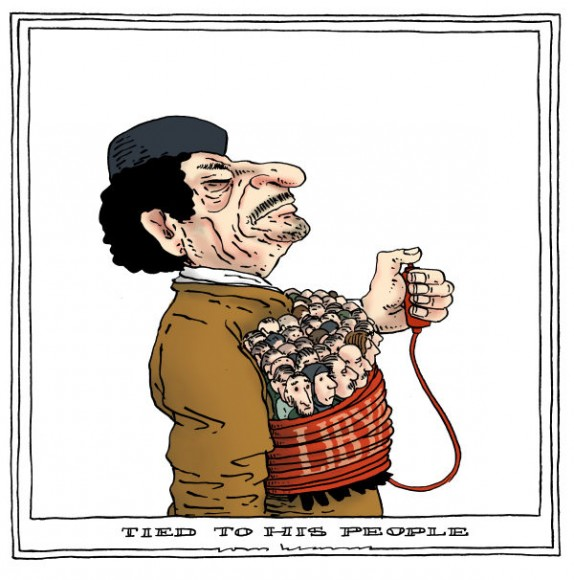 Con il popolo libico contro Gheddafi