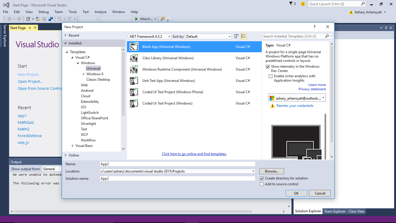 Programming Simple Math Quiz Application with C# and Visual Studio ...