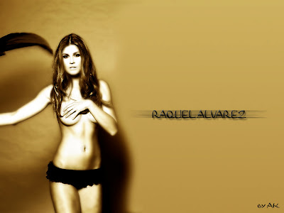 TV Celebrity Rafael Alvarez Topless Wallpaper