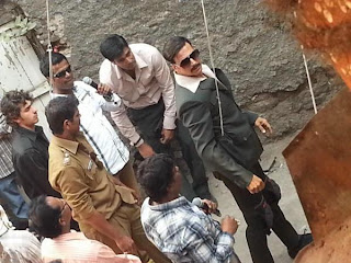Akshay Kumar on the sets of Once Upon A Time In Mumbai 2