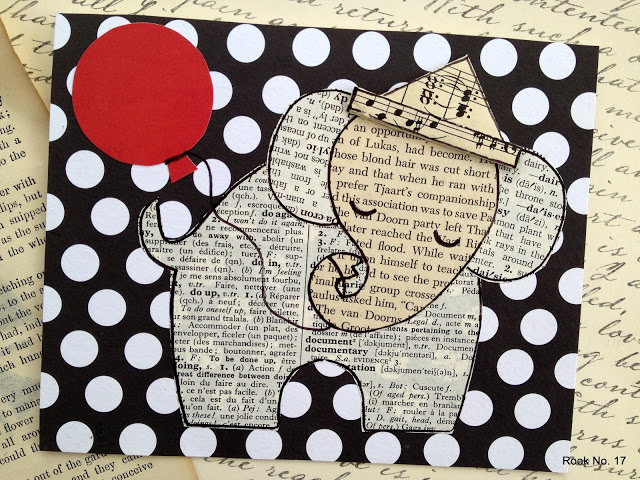 An elephant never forgets card tutorial