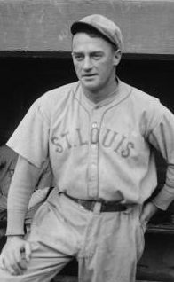 Urban Shocker in St. Louis Browns uniform