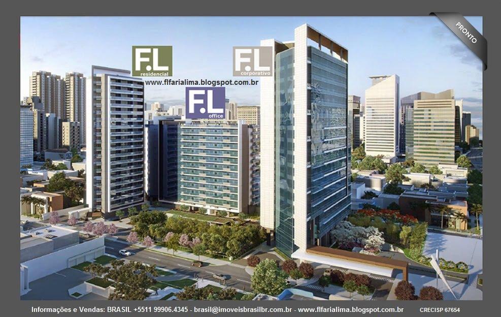 F.L Faria Lima 4300-Apartamentos-Salas Comerciais-Lajes Corporativas. Av.Brig.Faria Lima,São Paulo.