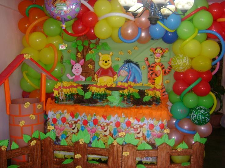 Cosas de cumpleaños de winnie the Pooh - Imagui