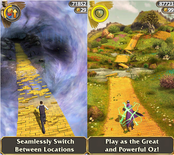 full Temple Run: Oz APK 1.6.0 Version