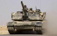 U.S. Army M1A1 Abrams tank