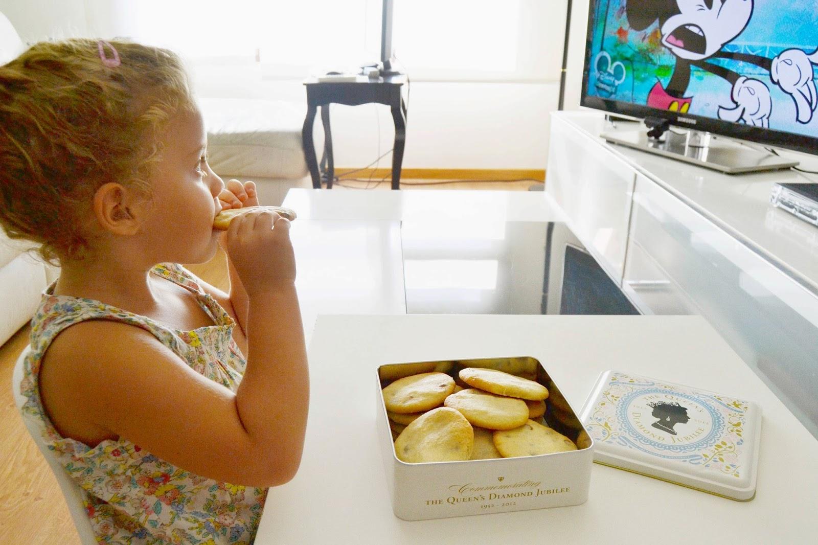 receta de cookies de chocolate blog mama de noa cocinar con niños