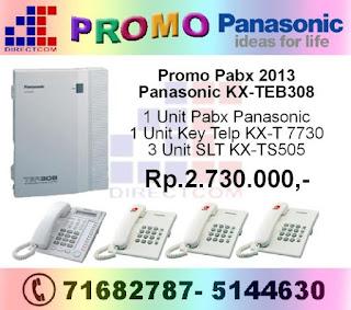 Promo Panasonic KX-TEB 308 2013