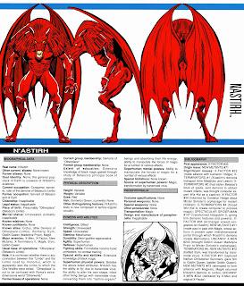 N'Astirh Ficha Marvel Comics