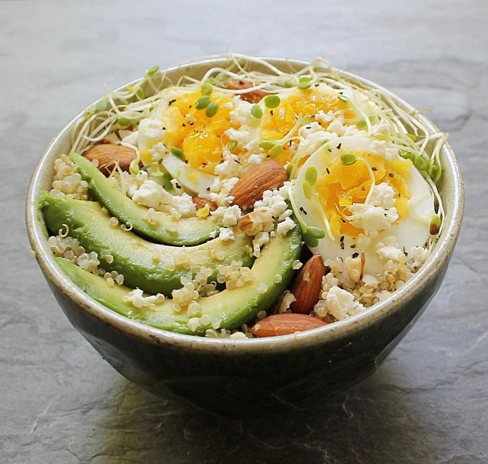Quinoa Breakfast Bowl Recipe — Dishmaps