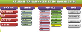 Aplikasi Administrasi Kelas SD Lengkap