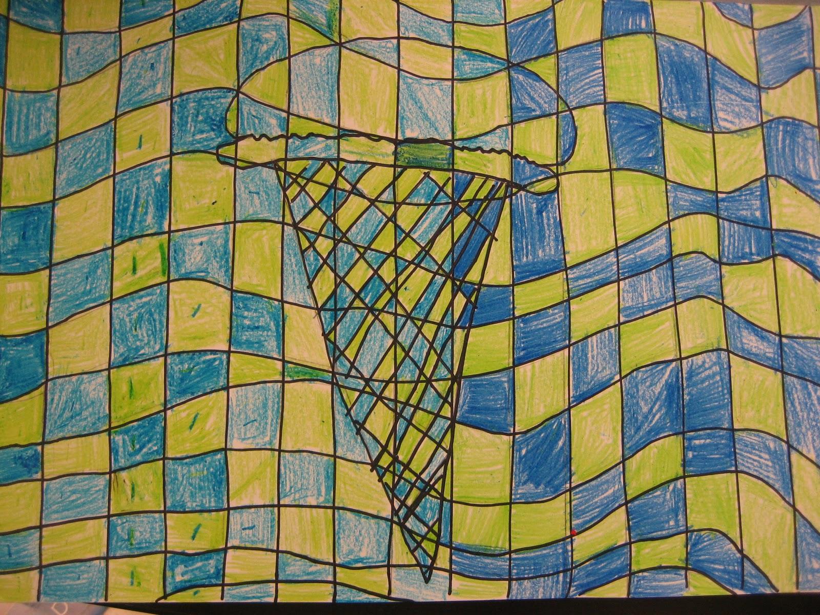 Creations from Young Minds: Third Grade: Op Art