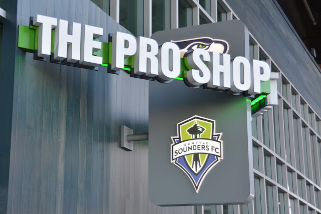 Century Link Field Seattle Pro shop