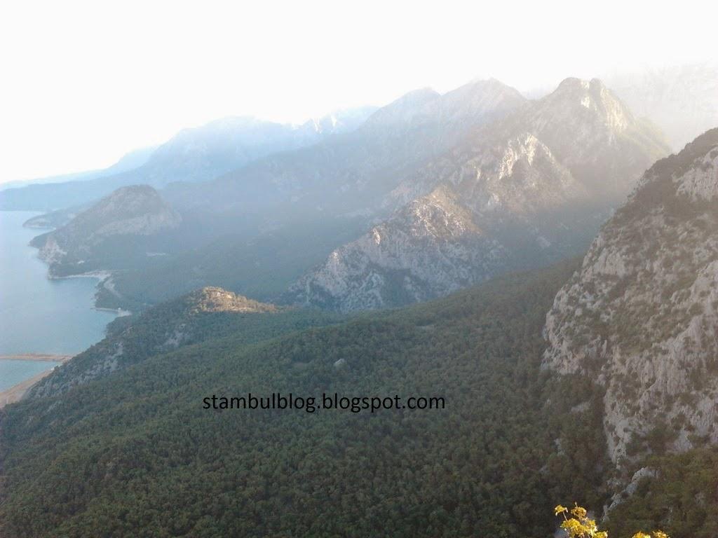 вид на горы в Анталии