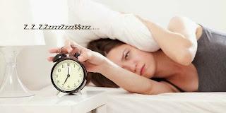 tidak bisa tidur, Isomnia, berat tidur