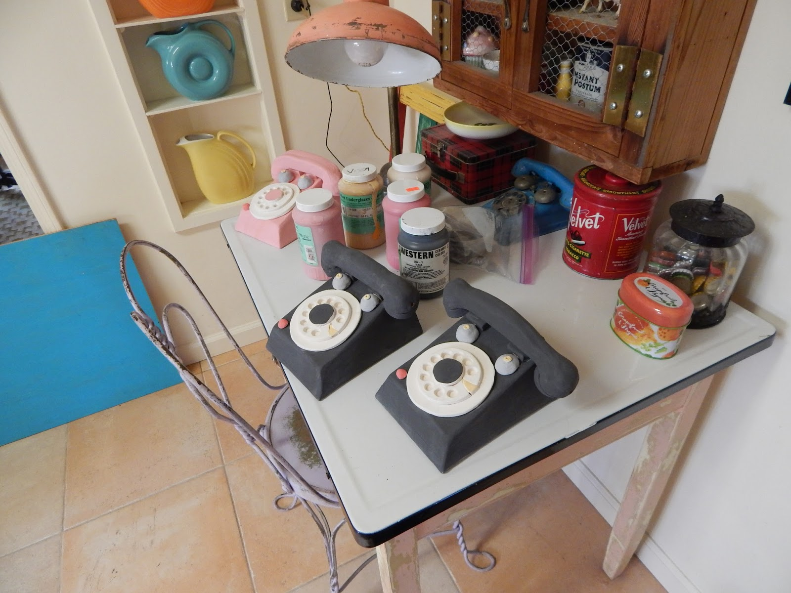 Polka Dot Clay Studio: Kitchen Disasters