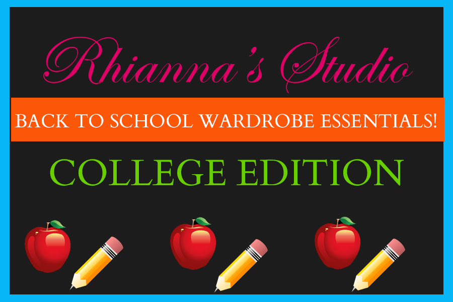 Rhianna's Studio Back to school basics and essentials