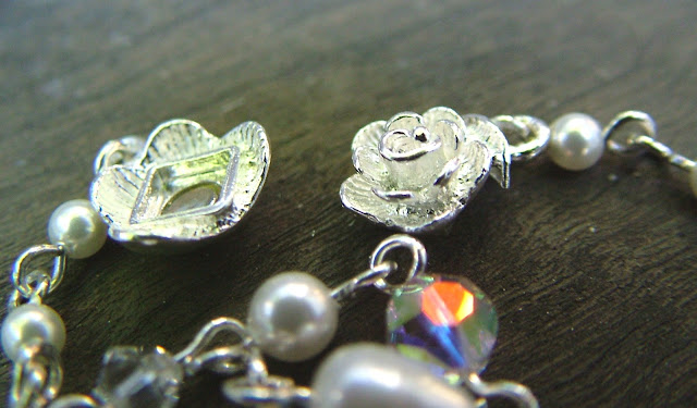 Magnetic Sterling Silver Flower Clasp