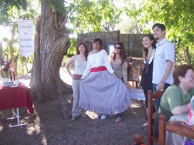 Con amigos de la Camara de Turismo