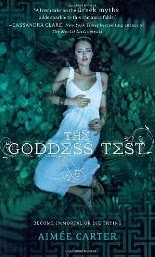 A review of The Goddess Test by Aimee Carter published by Harlequin Teen