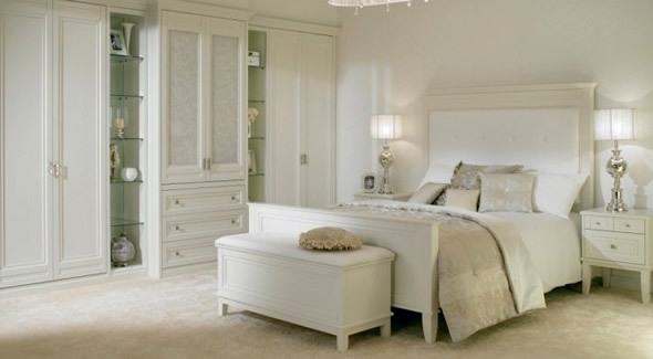 Bedroom furniture white popular interior house ideas for White bed interior design