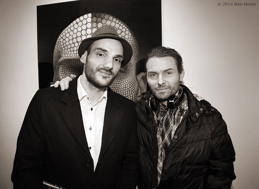 Artists Ben Heine and Damien Paul Gal