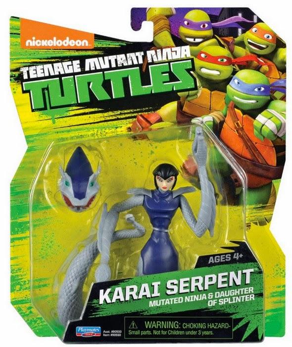 JUGUETES - Las Tortugas Ninja  Karai Serpiente | Figura - Muñeco  Teenage Mutant Ninja Turtles - Karai Serpent  Toys | Producto Oficial Serie Nickelodeon 2015  Playmates 90550 | A partir de 4 años