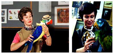 Harriet Burnes Disneyland Enchanted Tiki Room Birds