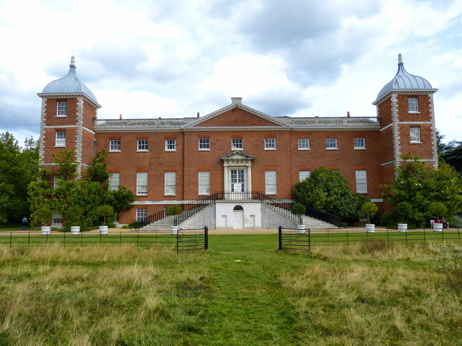 The rear view of the house, Osterley