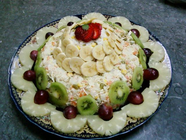 Le blog de for Decoration salade de fruits