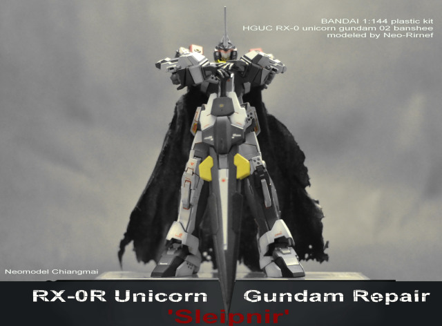 custom gundam build unicorn