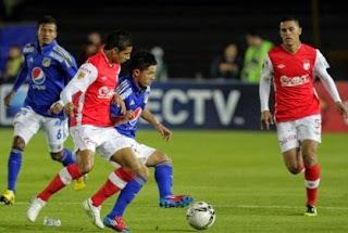 Independiente Santa Fe vs Millonarios,