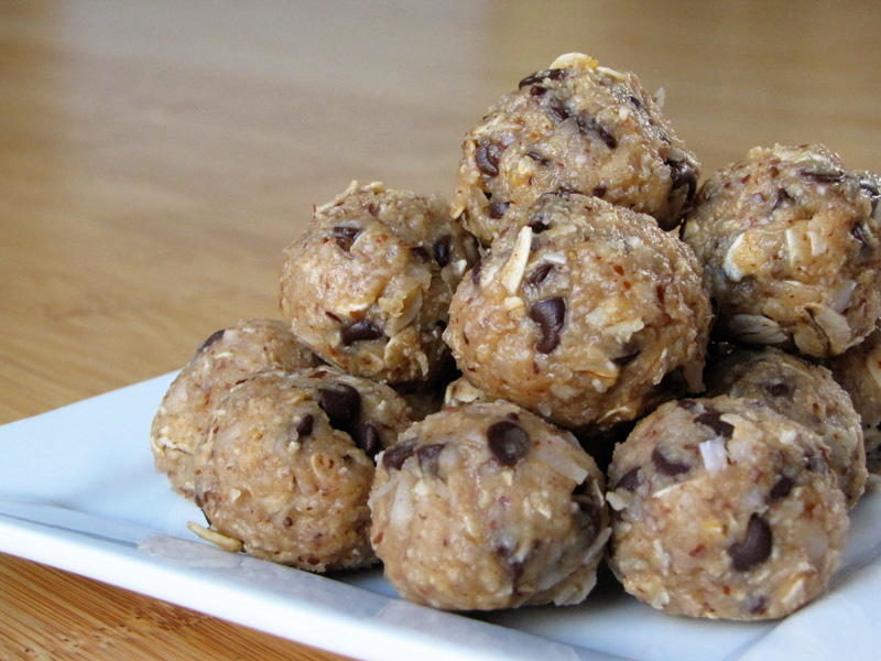 ... little no-bake bites are a great treat packed full of healthy energy