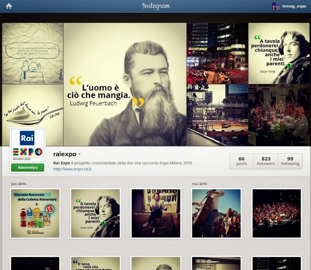 Rai Expo Instagram